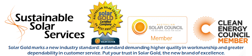 SSS Solar Gold Certification ensures highest levels of workmanship!