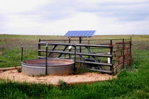 Solar Water Pumps - Solar powered pumps to provide water for livestock