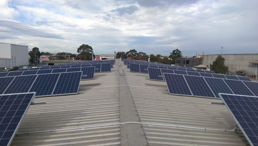 Dandenong South - Commercial Solar Installation