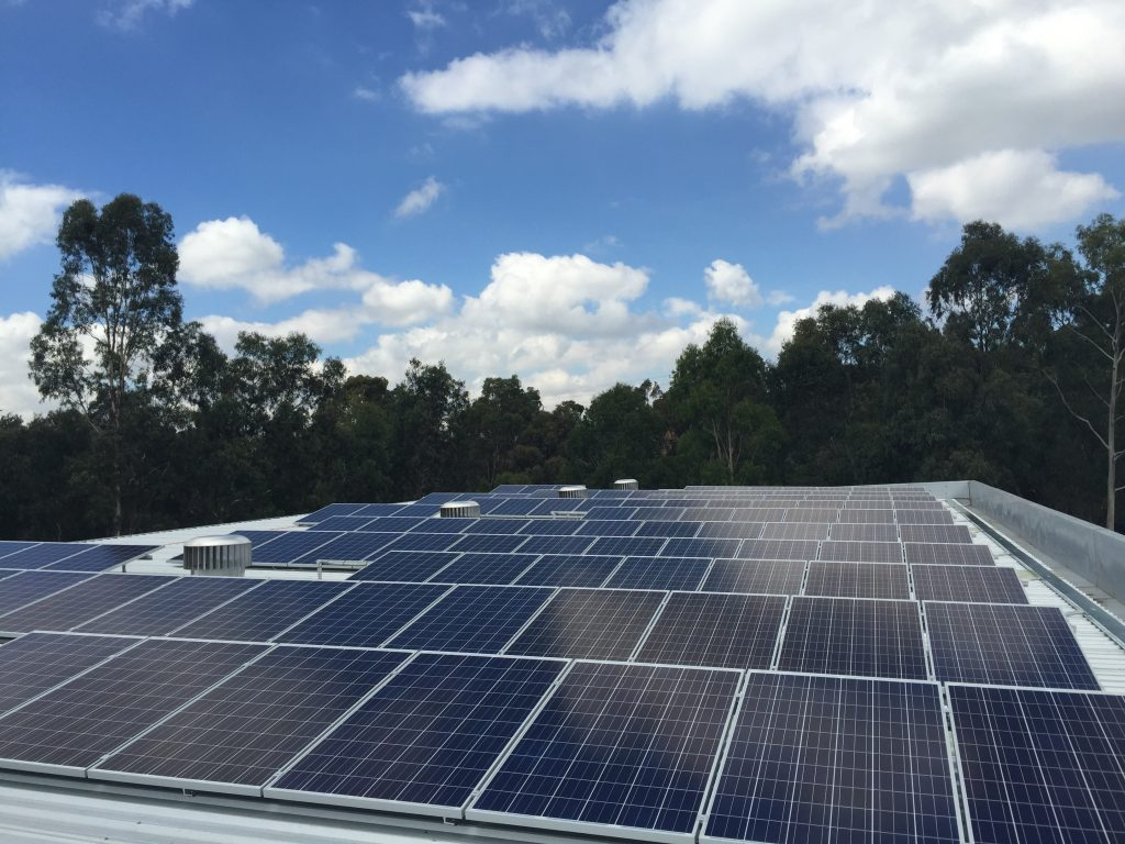 Preston - Commercial Solar Installation
